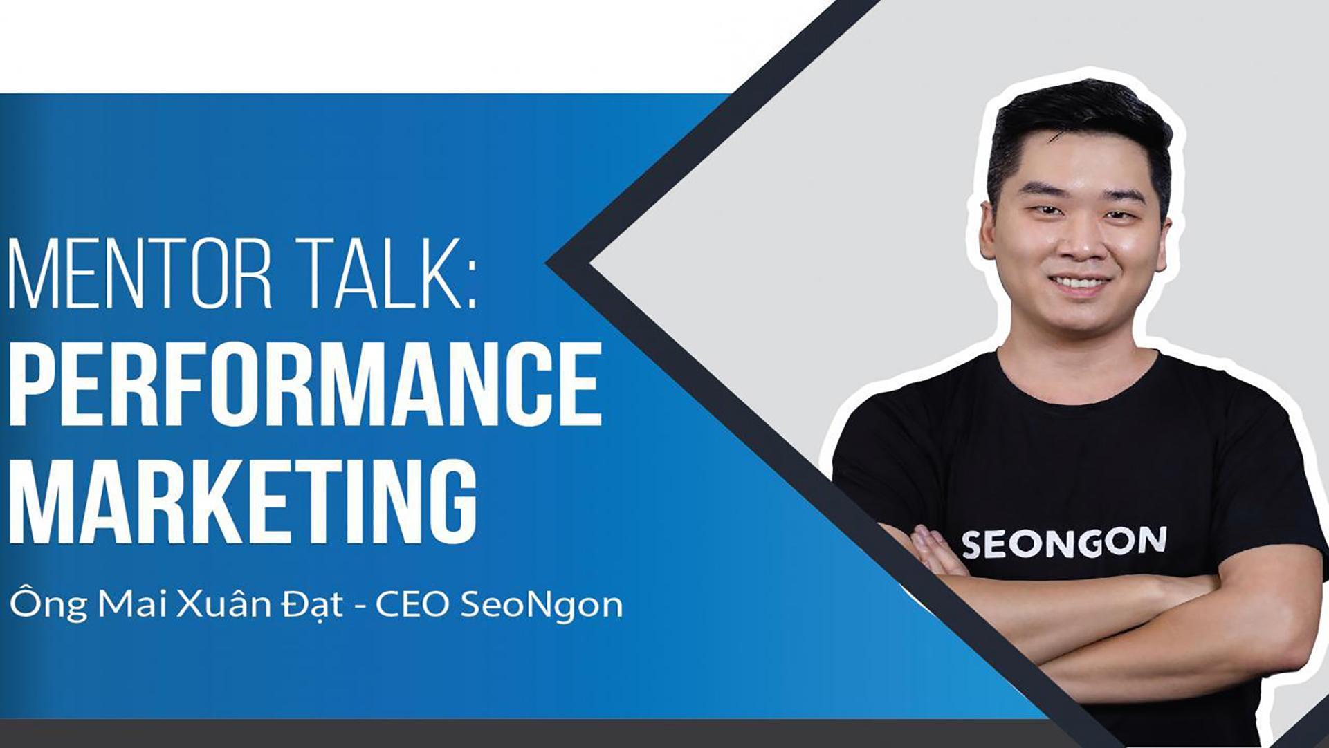Performance Marketing [Mentor Talk]